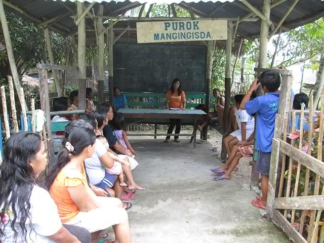 Community meeting on Livelihood Project Loan Scheme