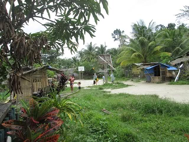 The heart of every small community in the Philippines is a Basketball Court