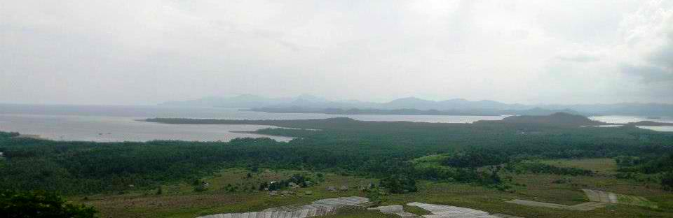 Dumaran Island View from Mt. Turing