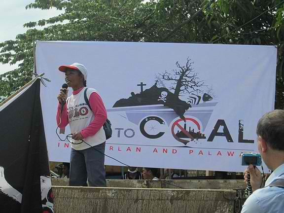 Tribal Woman Speaks No to Coal-Fired Power Plant in Aborlan Palawan