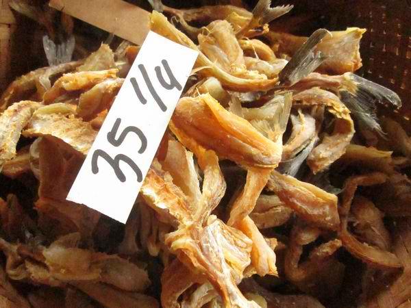 Dried Suran or Unicorn Fish