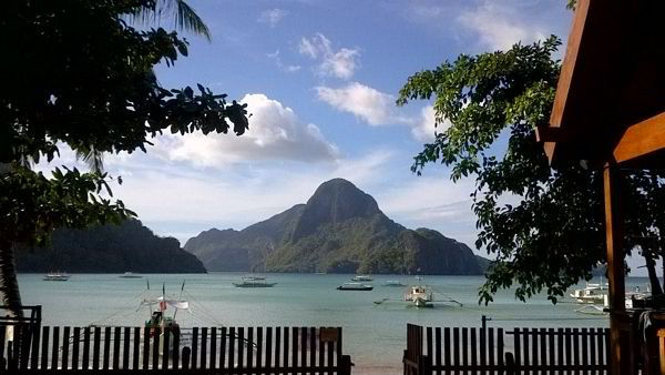 View of one of El Nido's Stunning Beach Resorts