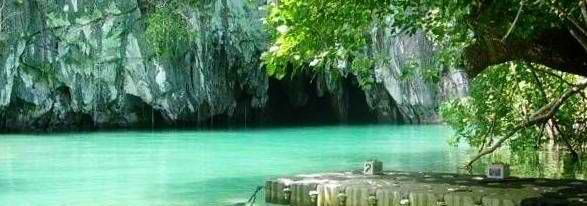 Entrance of the Puerto Princesa Saint Paul's Subterranean River National Park